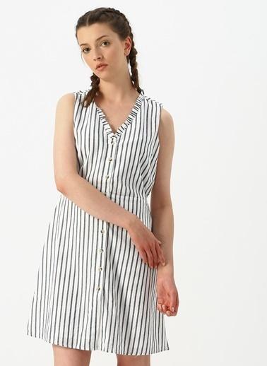 Vero Moda Elbise Beyaz